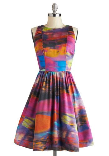 Plenty by Tracy Reese Riveting Reflections Dress, #ModCloth