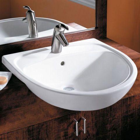 Mezzo Semi-Countertop Sink Alternate View