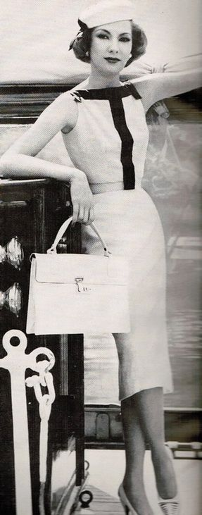 Oleg Cassini,1957 Vogue   House of Beccaria~