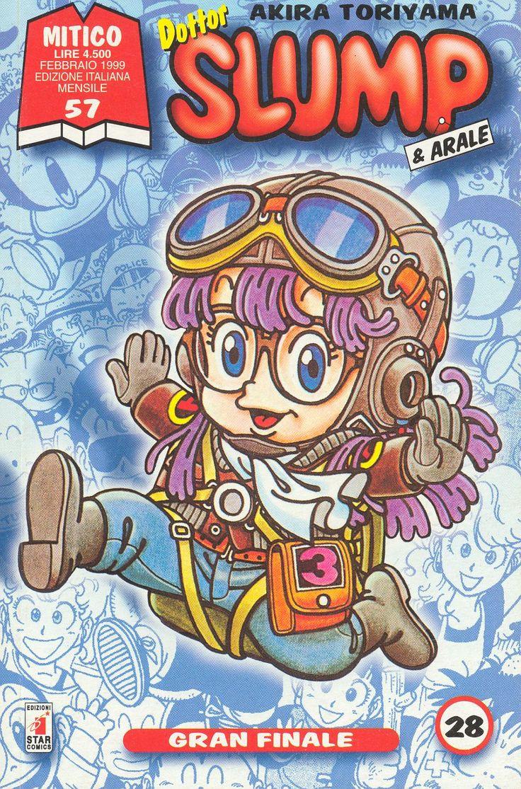 TORIYAMA Akira (鳥山明 ), Dottor Slump & Arale / Dr. Slump / Dr. スランプ / ドクタースランプ Italian covers 04