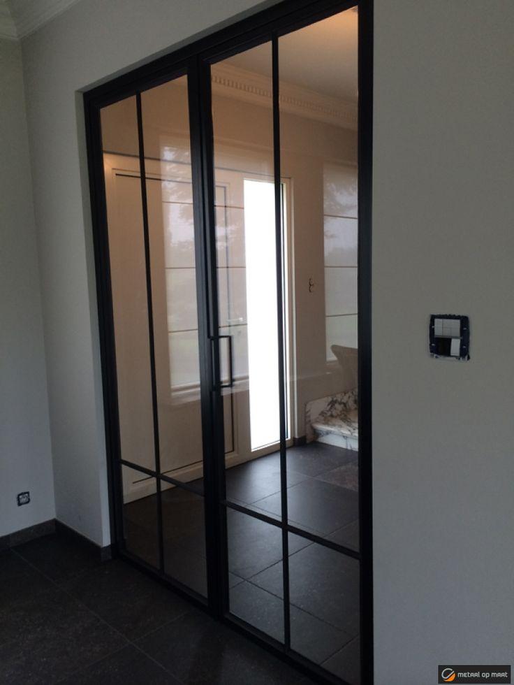 Stalen ramen en metalen binnenschrijnwerk - Stalen deur, smeedijzeren deur en metalen deuren   Metaal op Maat