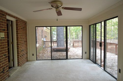 Open Er Up Converting A Sunroom Into A Veranda Nice