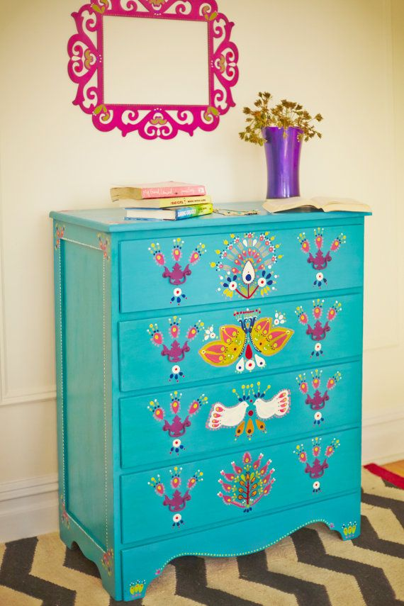Hey, I found this really awesome Etsy listing at https://www.etsy.com/listing/178594216/hand-painted-dresser-large-drawers