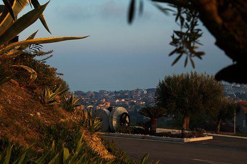 la magnifica vista de Il Parco Sul Mare