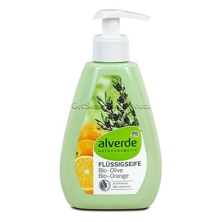 ALVERDE Natural Cosmetics Liquid Soap Bio-Olive Bio-Orange 300 ml | Get Some Beauty