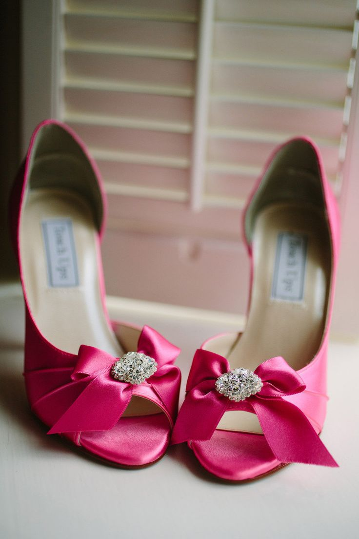 Hot Pink Wedding Shoes Savannah At The Hyatt Regency From Red Fly Studio Read