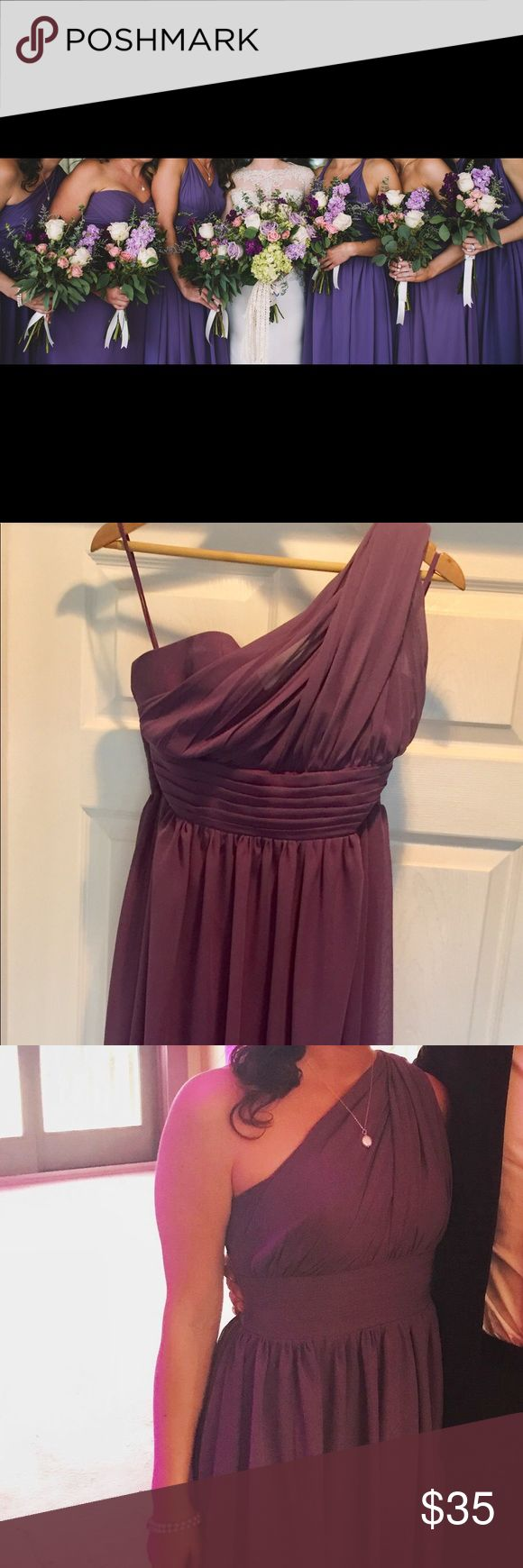Lavender bridesmaid dress from Etsy Off the shoulder lavender bridesmaid dress measures 54 in from shoulder, worn with 3in heels etsy Dresses One Shoulder