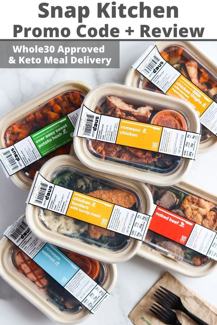 Snap Kitchen Discount & Review (Whole30 Approved and Keto
