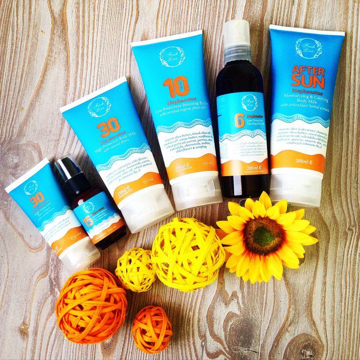 Υποδεχόμαστε σιγά-σιγά το καλοκαίρι...και χαιρόμαστε τον ήλιο με τη φυσική αντηλιακή προστασία που μας χαρίζει ο Ήφαιστος! Τα προϊόντα αντηλιακής προστασίας #Hephaestus με φυσικά ορυκτά φίλτρα προστατεύουν αποτελεσματικά και άμεσα από τις ακτίνες UVA & UVB, ενώ είναι εμπλουτισμένα με ένα συνδυασμό φυτικών ελαίων και εκχυλισμάτων που αποτρέπουν την φωτογήρανση, προσφέρουν ενυδάτωση, αντιοξειδωτική δράση ενώ παράλληλα καταπραΰνουν το δέρμα... Προστατέψτε την επιδερμίδα σας φυσικά!