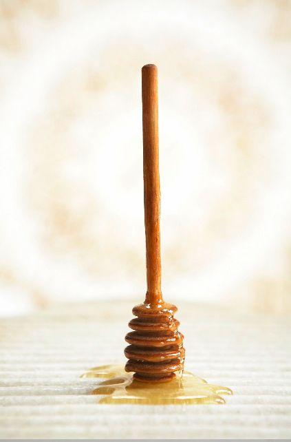 a honey stirring stick