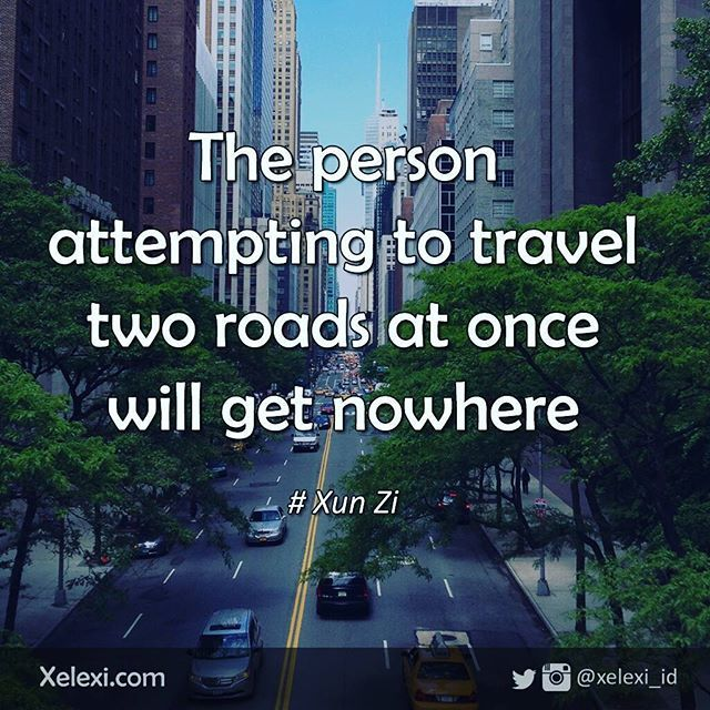 Not only for travelers, this quote is also relevant for you who try to run your…