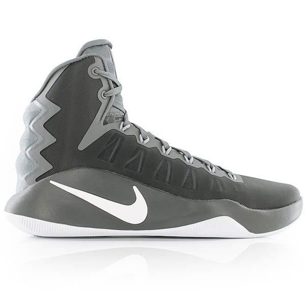 White/Wolf Grey Mens Basketball Shoes