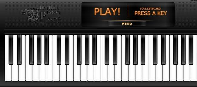 Suonare il Pianoforte Online