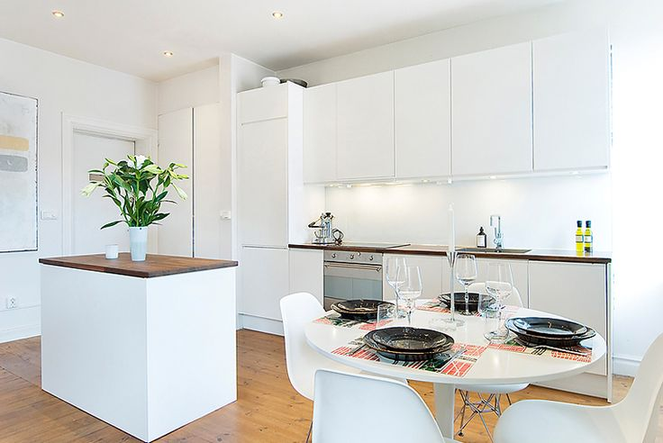 Having Fun Cooking in Bewitching Scandinavian Kitchen Designs : Scandinavian Kitchen Decor Seem Clean And Bright