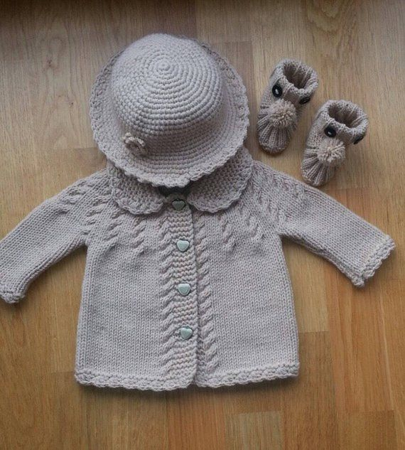 Hand Knitted Baby Cardigans Clothing, Shoes & Accessories Baby & Toddler Clothing