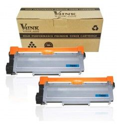V4INK Brother TN630 TN660 - 2 Packs