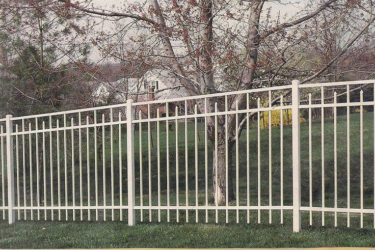 White Aluminum Fence Aluminum Fence Fence Design Old