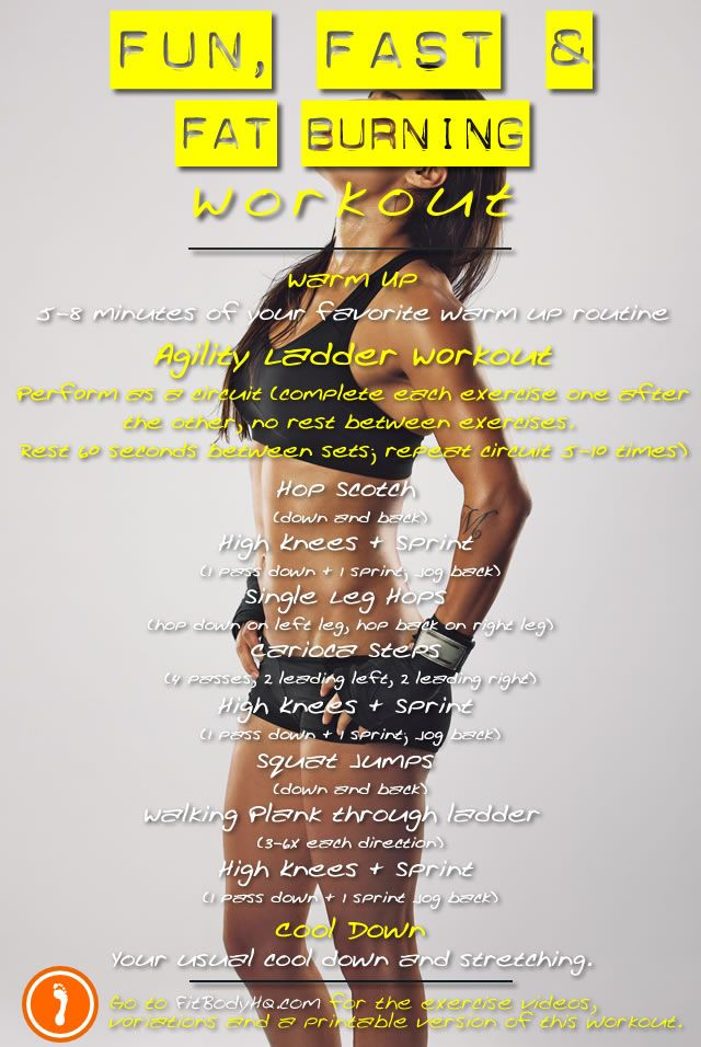 Fun, Fast and Fat Burning Workout