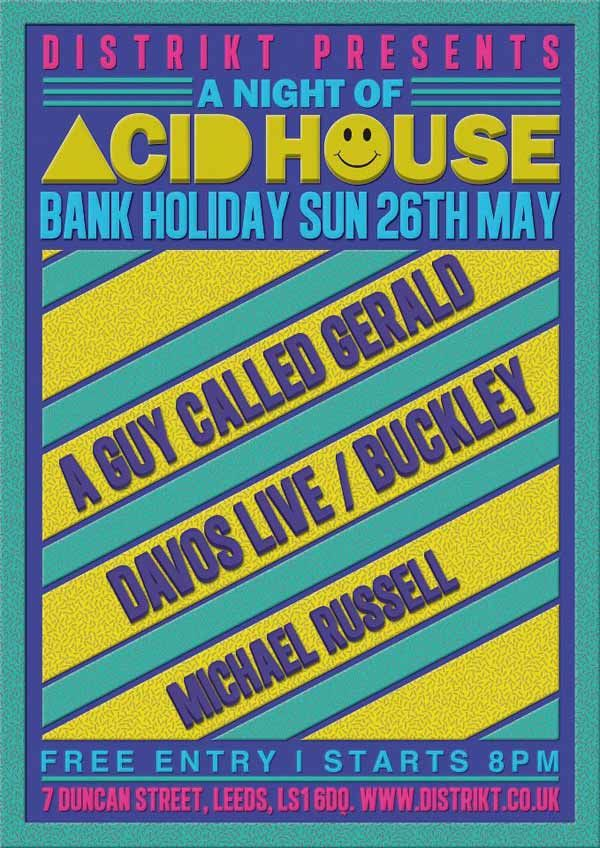 acid house flyers - Google Search