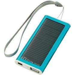 Mini-solcelle-oplader Mini-solarcharger SZ-MSC2009-1 1200 mAh Mint