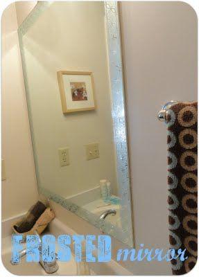 1000 ideas about mirror border on pinterest tile mirror for Martha stewart small bathroom ideas