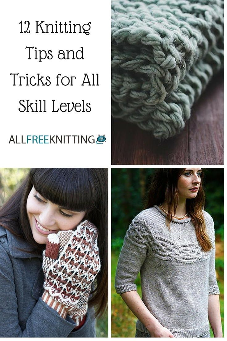 Knitting Tips And Tricks For Beginners : Best how to knit free knitting tutorials images on
