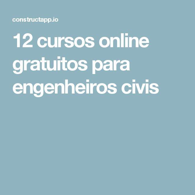12 cursos online gratuitos para engenheiros civis