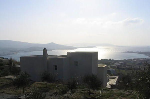 Villa on Cycladic island of Paros - Greece - breathtaking views