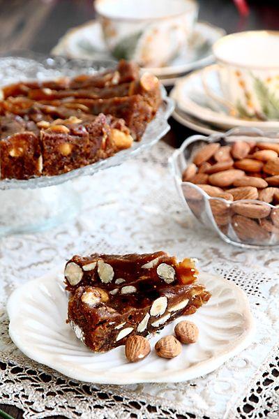 Панфорте - традиционная тосканская рождественская сладость. Сегодня панфорте выпекают круглый год. Пряный, душистый, с приятным контрастом между слегка тяг
