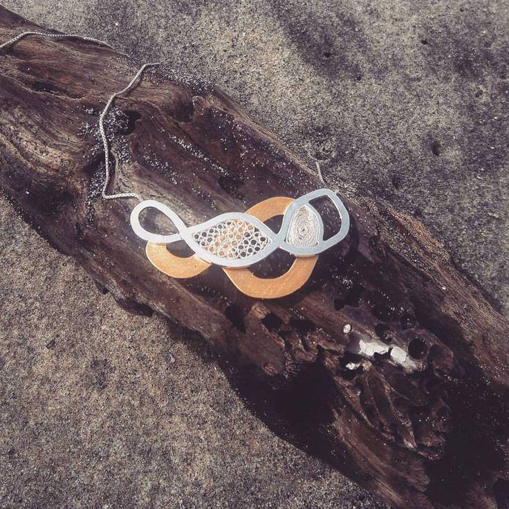 Collar Amazonas de la colección #Caudal #joyas #filigrana