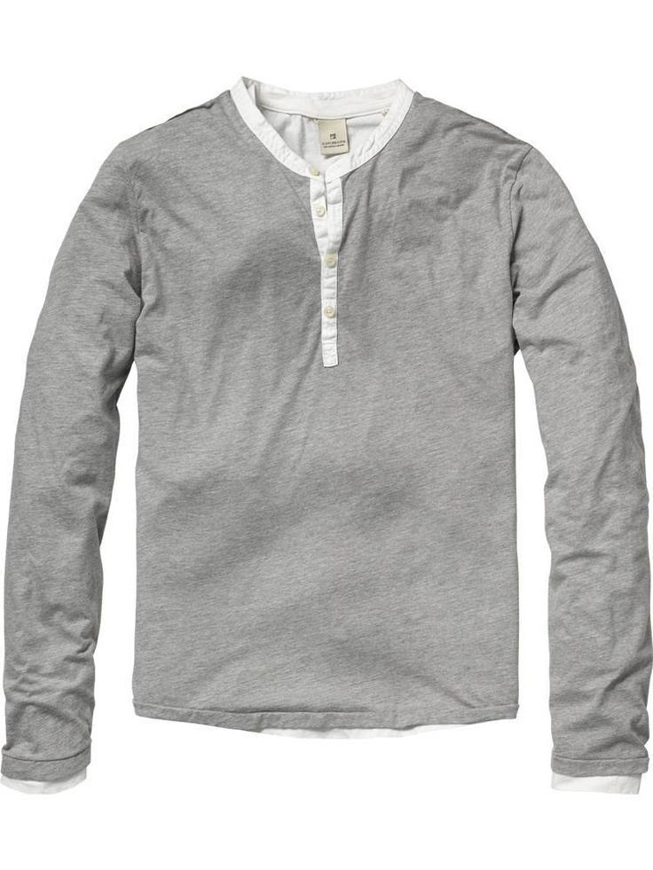 Scotch and Soda - henley