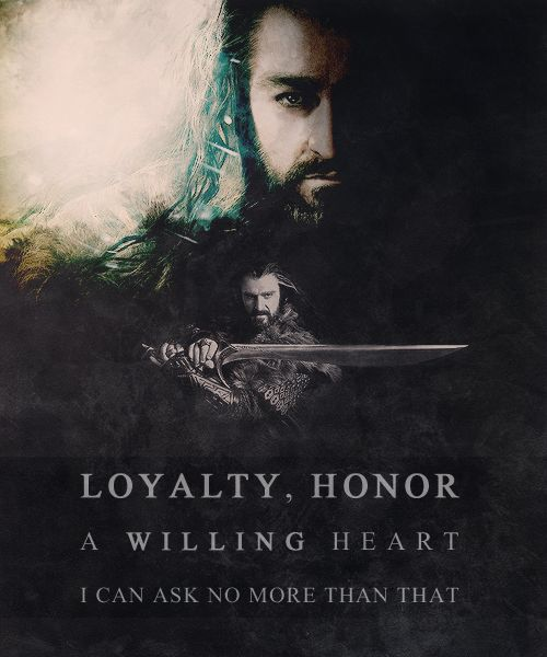 Thorin Oakenshield is officially one of my favorite characters in Middle-earth.