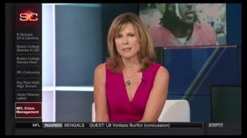 """Hannah Storm Gets Emotional and Asks """"What Does the NFL Stand For?"""""""