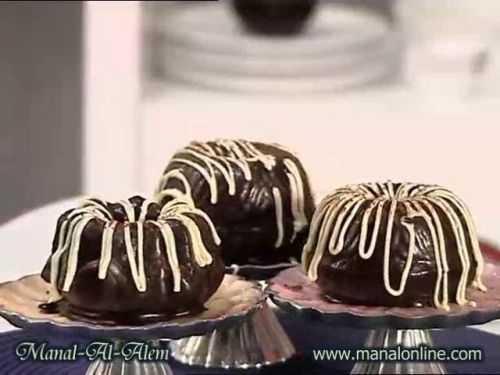 كيك شوكولاتة خفيف - منال العالم