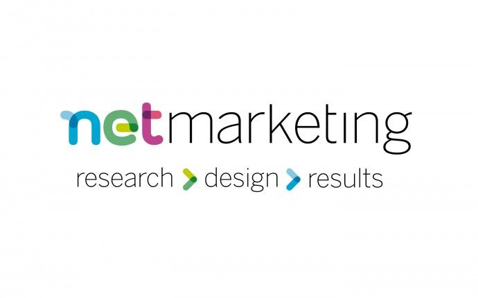 netmarketing, visual identity / logo design, by daily milk