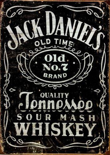 JACK-DANIELS-CLASSIC-LOGO-Vintage-Sign-A4-Poster-Bar-Pub-Retro-Wall-Art-Decor