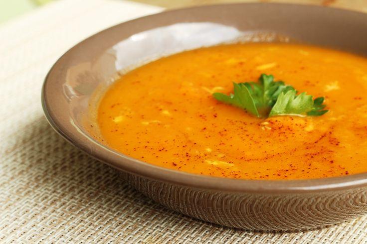 Σούπα με γλυκοπατάτα και τζίντζερ