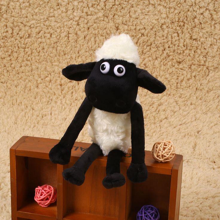 1Pcs Shaun The Sheep Lamb Shape Stuffed Plush Doll Gifts Home Decor For Kid
