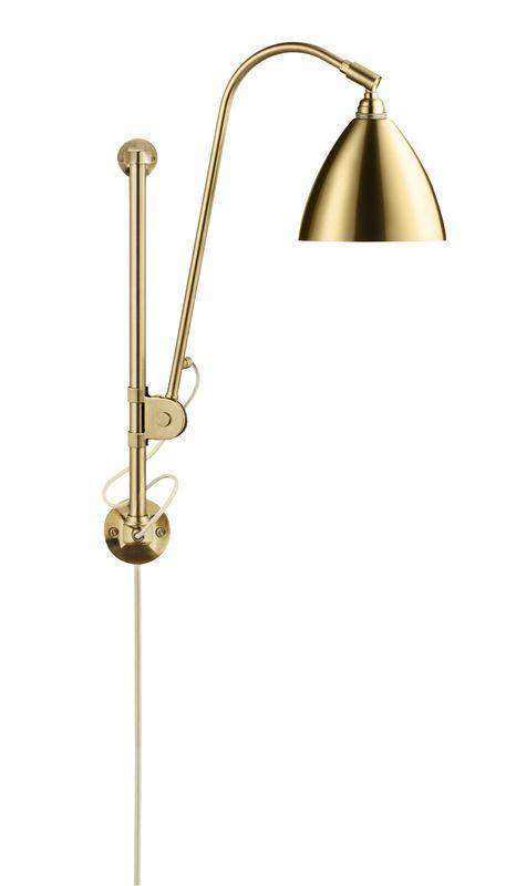 GUBI // Bestlite BL5 Wall Lamp in all brass