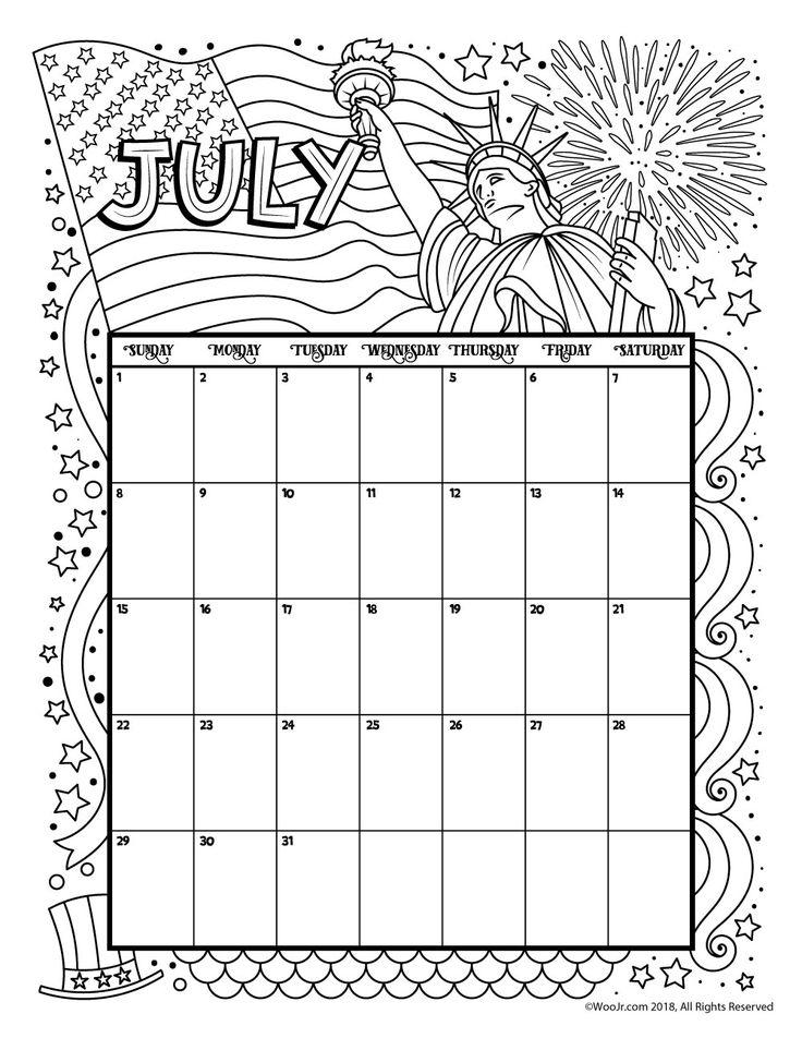 точна, раскраска апрель календарь создавать множество интересных