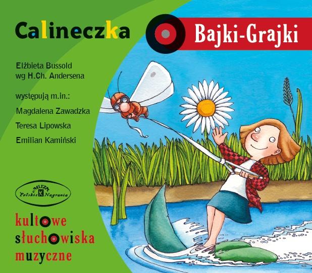 """Bajki-Grajki nr 27 """"Calineczka""""  Ilustracja: Marcin Bruchnalski  www.bajki-grajki.pl"""