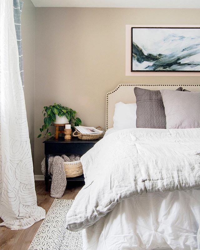 Guest Room Makeover Reveal In 2020 Guest Bedroom Bedroom Decor On A Budget Apartment Bedroom Decor