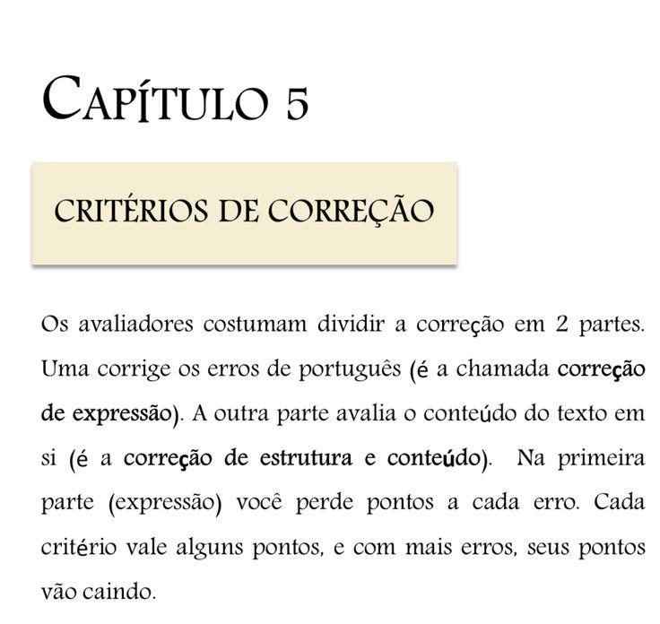 capitulo 5 redacao