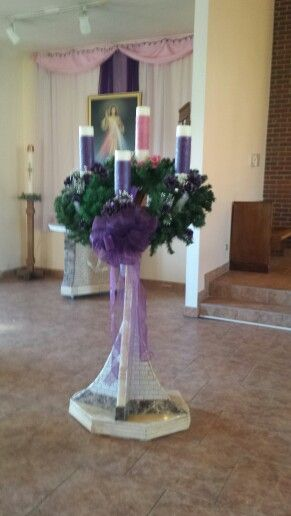 Our Lady Mother of the Church 2014 Advent Wreath