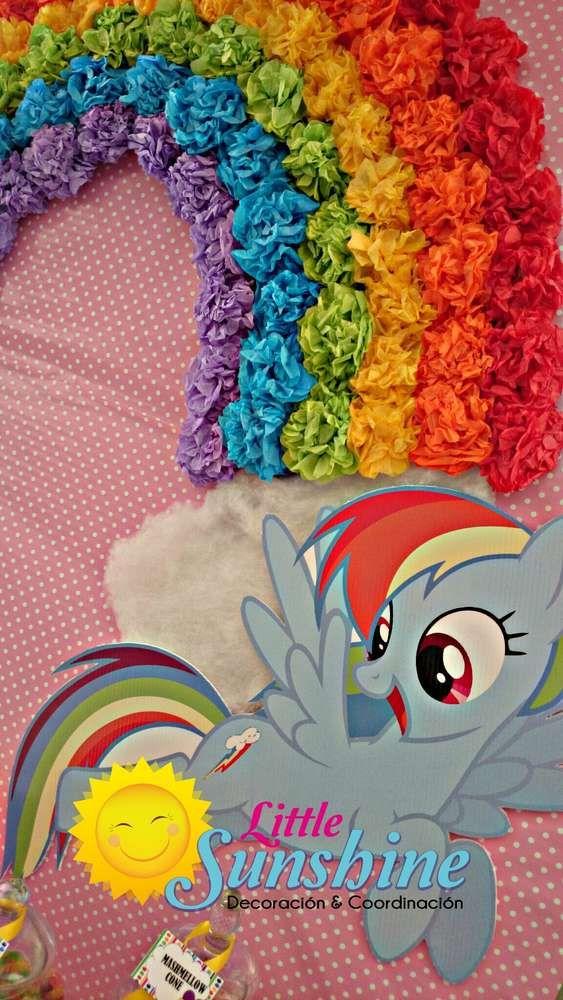 """Little pony"" Birthday Party Ideas | Photo 1 of 10"