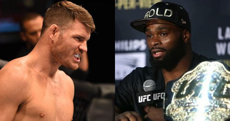 Michael Bisping & Tyron Woodley Agree To Catchweight Bout - http://www.lowkickmma.com/UFC/michael-bisping-tyron-woodley-agree-to-catchweight-bout/
