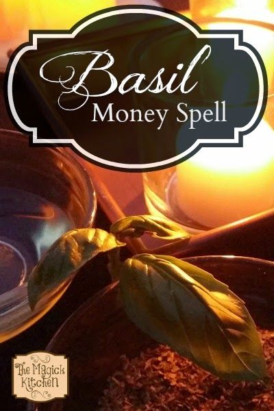 The Magick Ktchen Basil Money Spell - Pinned by The Mystic's Emporium on Etsy