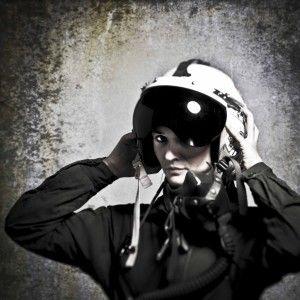 TIMELESS WOMAN- pilota militare
