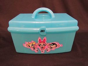 RARE Vintage Caboodles Powerpuff Girls Makeup Train Case Jewelry Box 1999 VHTF | eBay