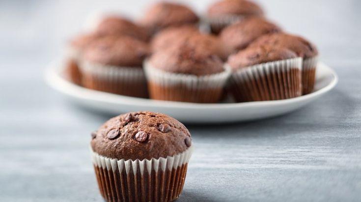 Špaldové muffiny s čokoládou